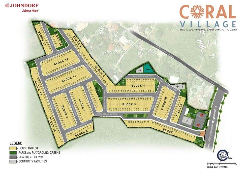 Coral Village Development Map